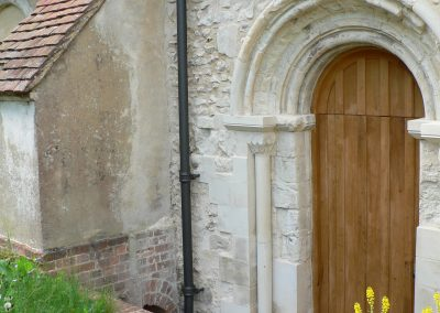 CC Stonework Repairs + New Door