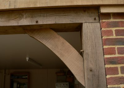 XC Oak Frame Detail 2